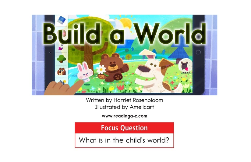 Book Preview For Build a World Page 1