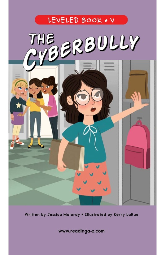 Book Preview For The Cyberbully Page 0