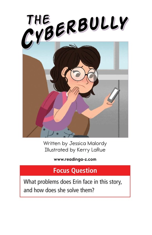 Book Preview For The Cyberbully Page 1
