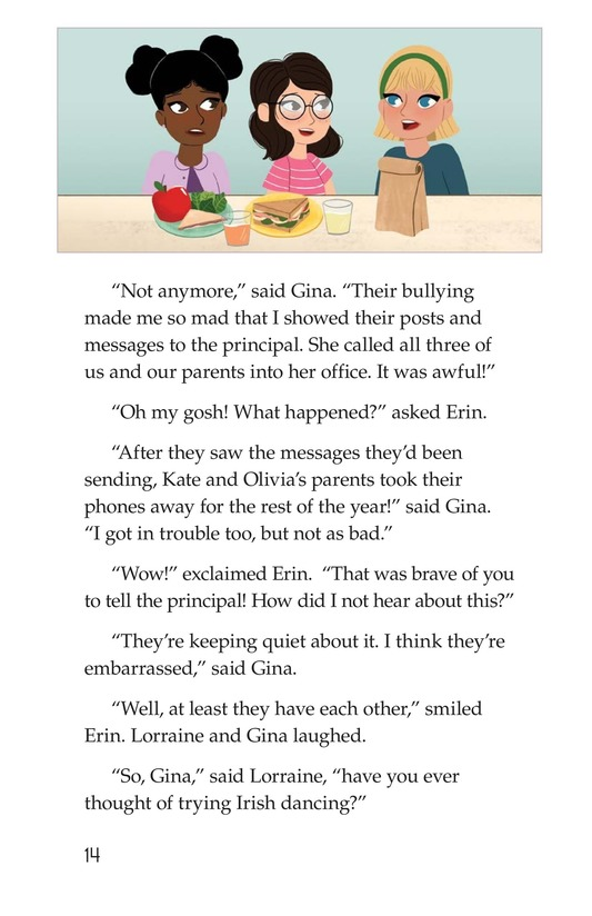 Book Preview For The Cyberbully Page 14