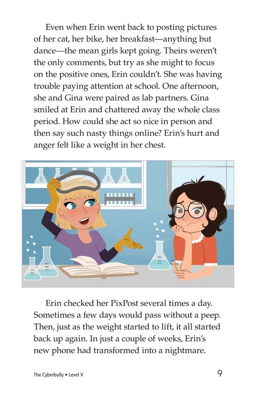 Book Preview For The Cyberbully Page 9