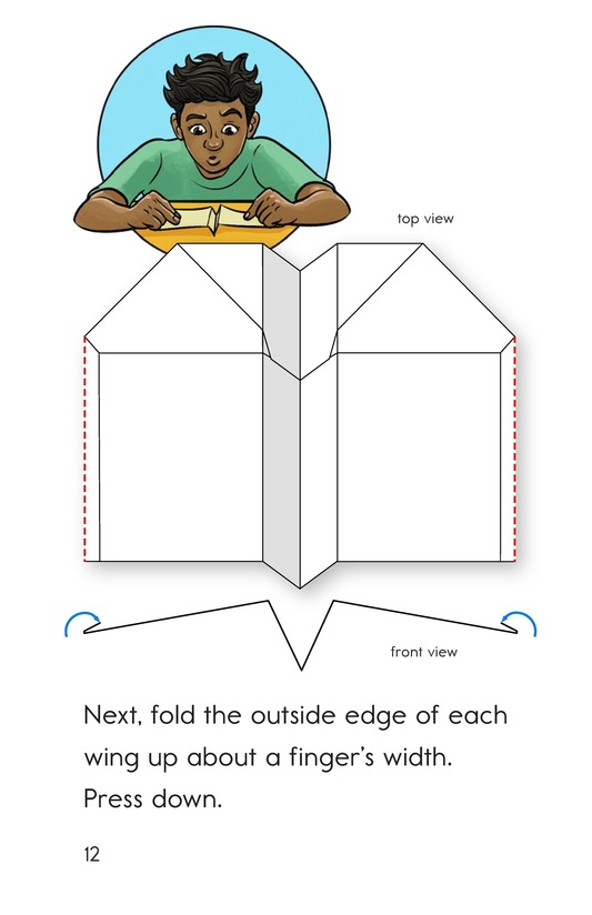 Book Preview For How To Make a Paper Airplane Page 12