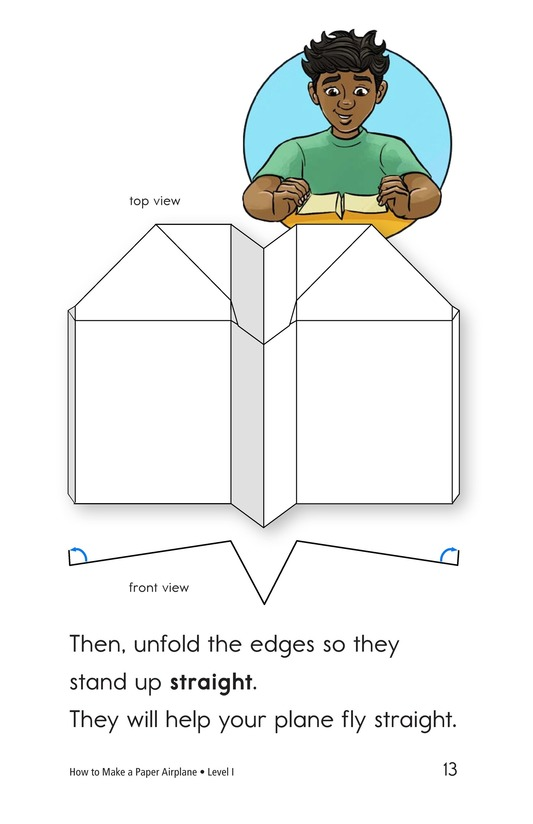Book Preview For How To Make a Paper Airplane Page 13