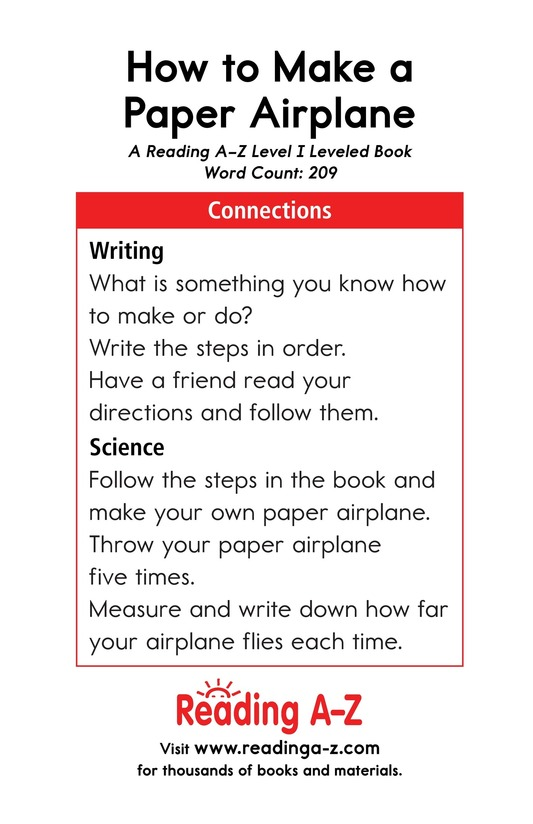 Book Preview For How To Make a Paper Airplane Page 17