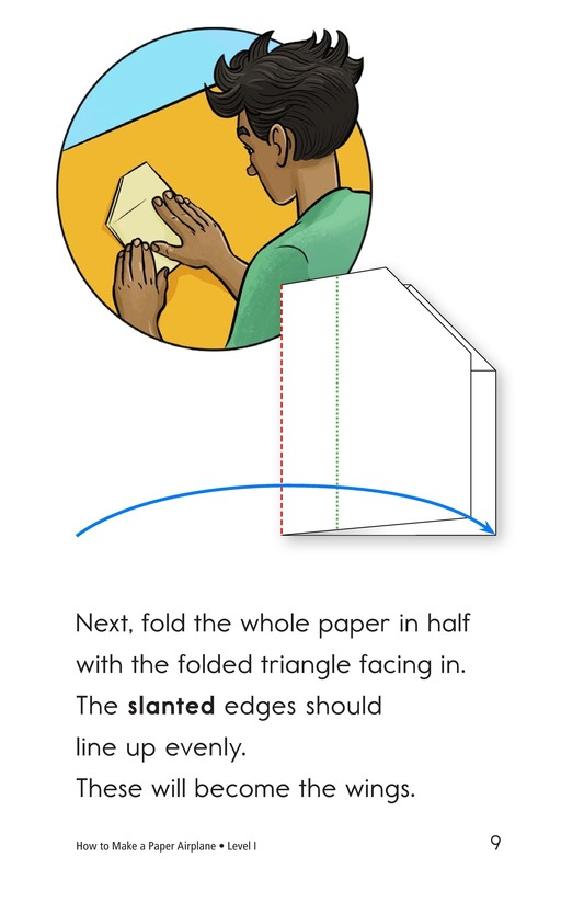 Book Preview For How To Make a Paper Airplane Page 9