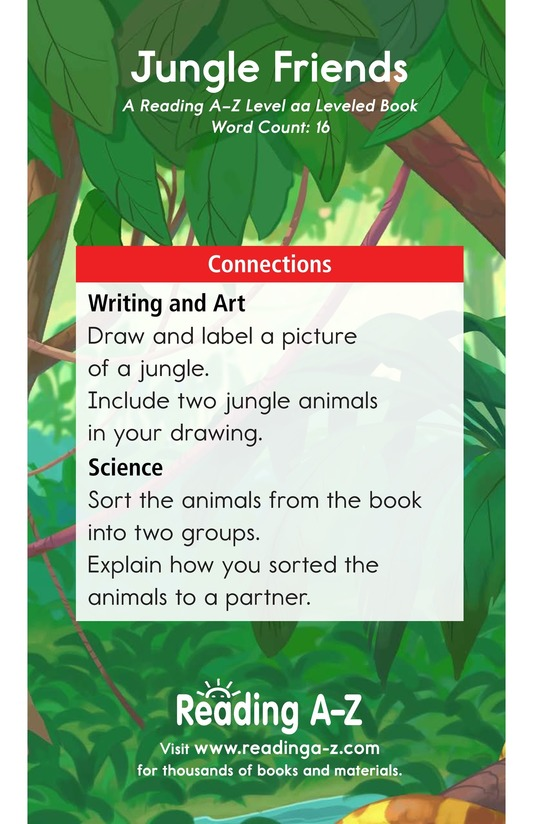 Book Preview For Jungle Friends Page 11