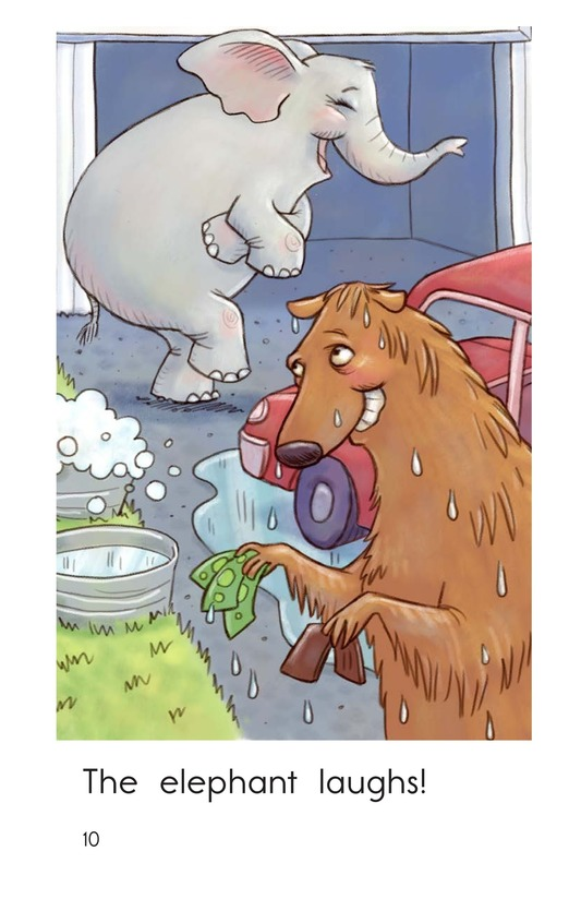 Book Preview For Elephant Car Wash Page 10