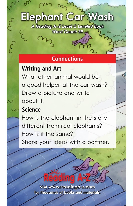 Book Preview For Elephant Car Wash Page 11