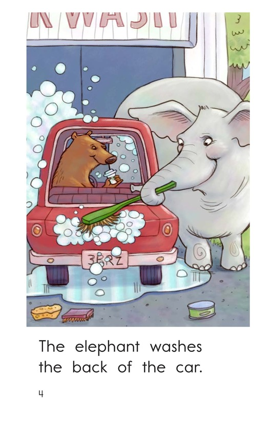 Book Preview For Elephant Car Wash Page 4