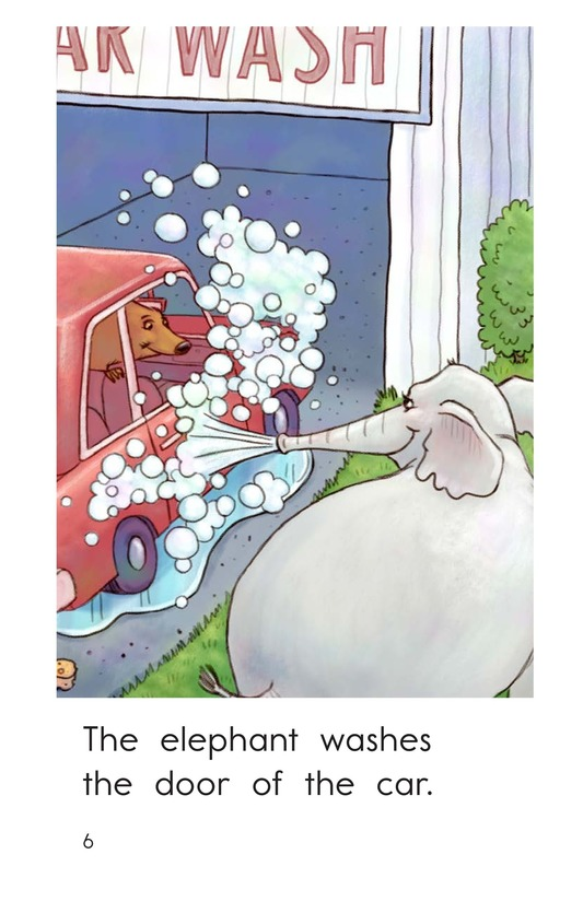 Book Preview For Elephant Car Wash Page 6