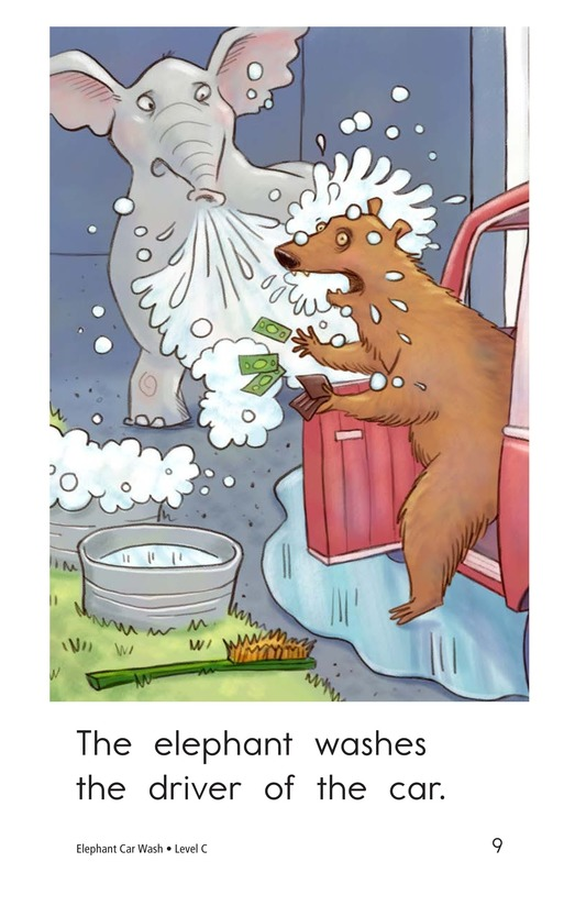 Book Preview For Elephant Car Wash Page 9