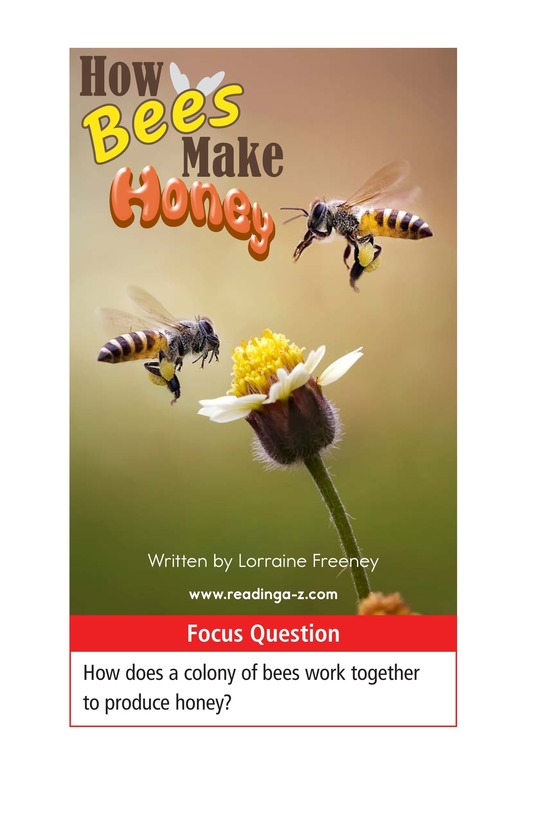 Book Preview For How Bees Make Honey Page 1