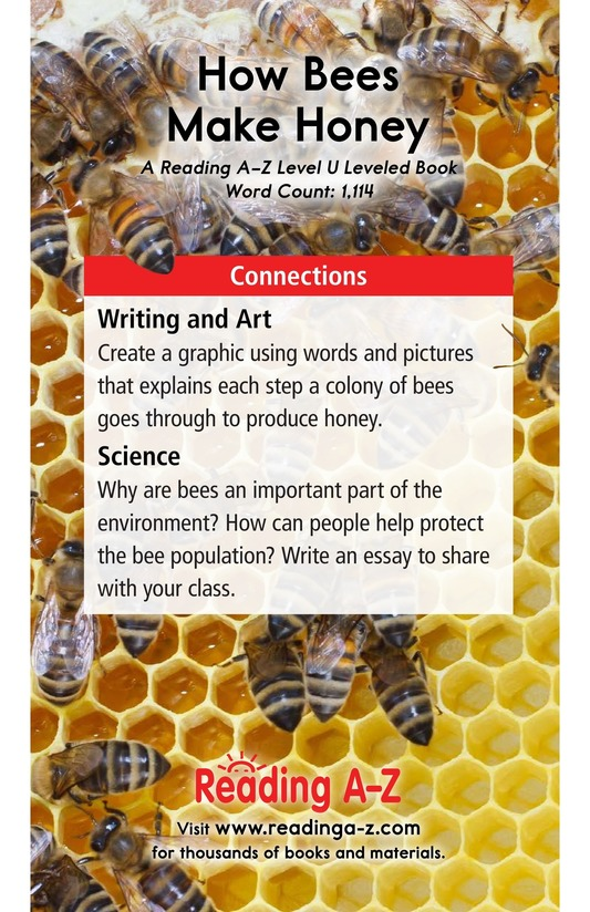 Book Preview For How Bees Make Honey Page 17