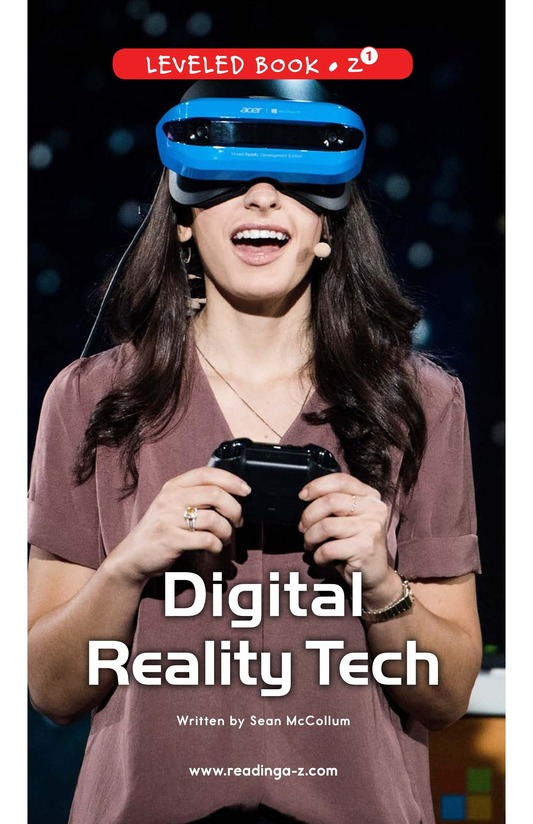 Book Preview For Digital Reality Tech Page 0
