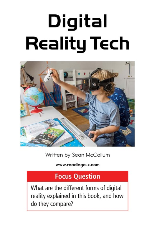 Book Preview For Digital Reality Tech Page 1