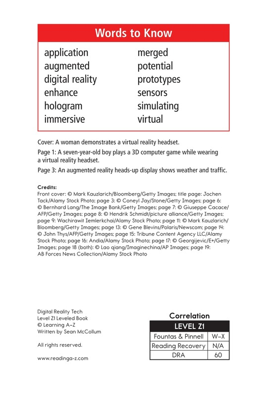 Book Preview For Digital Reality Tech Page 2