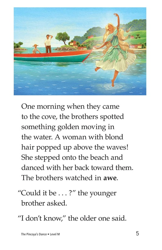 Book Preview For The Pincoya's Dance Page 5