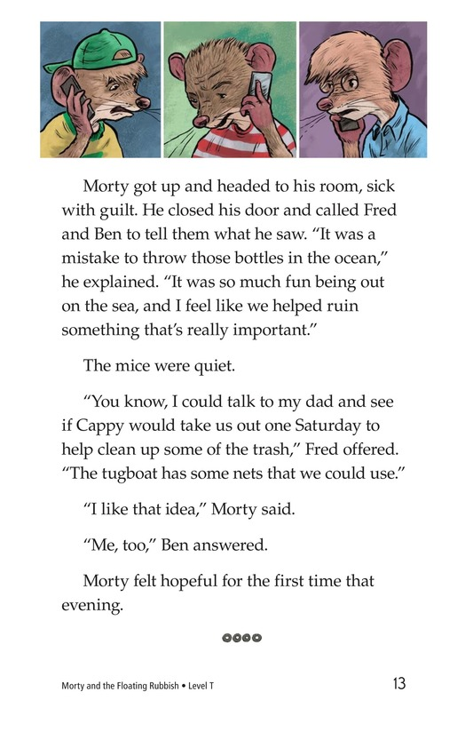 Book Preview For Morty and the Floating Rubbish Page 13
