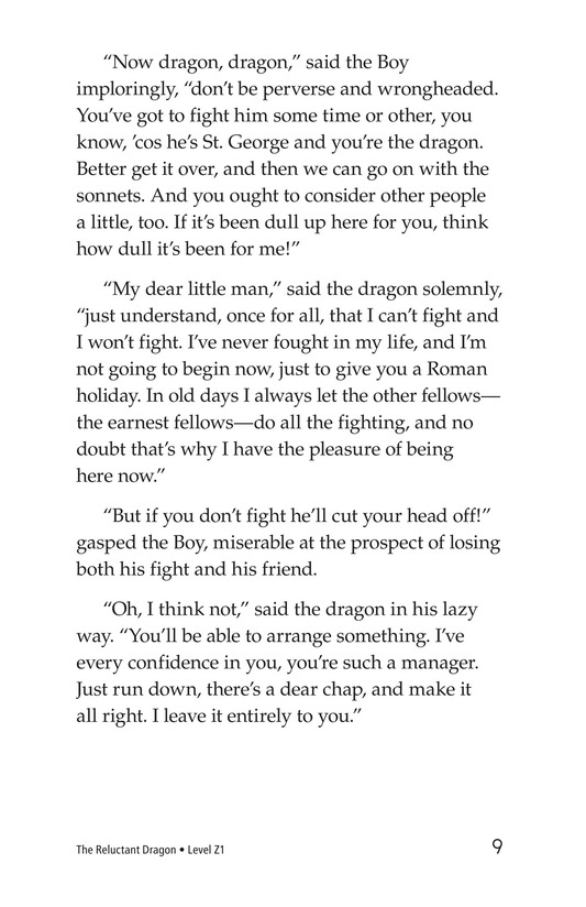 Book Preview For The Reluctant Dragon (Part 2) Page 9