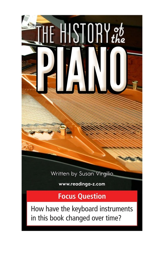 Book Preview For The History of the Piano Page 1