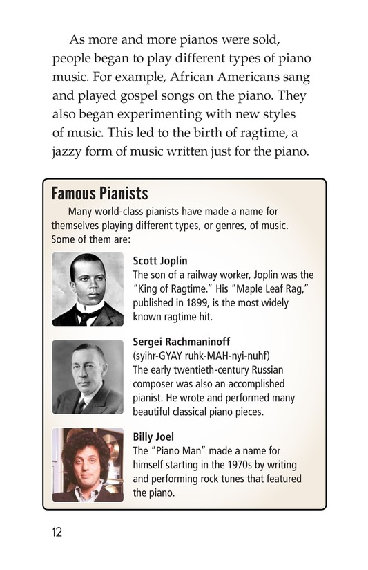 Book Preview For The History of the Piano Page 12