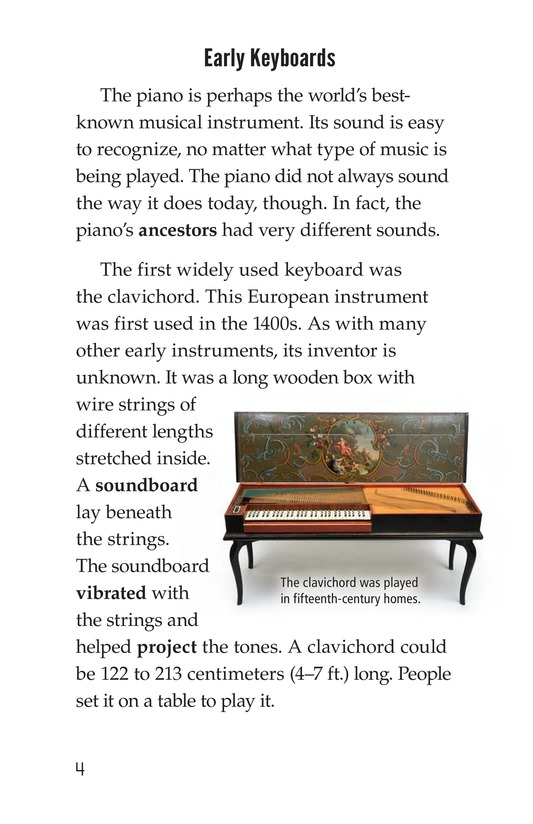 Book Preview For The History of the Piano Page 4