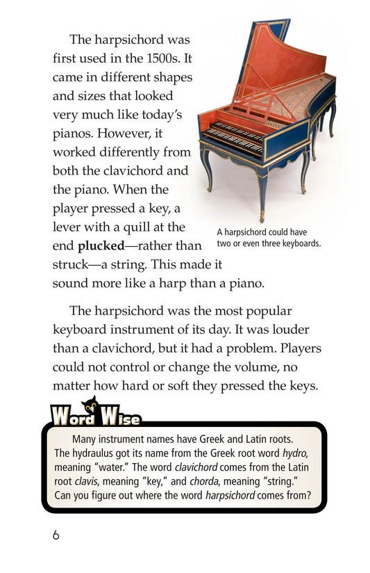 Book Preview For The History of the Piano Page 6