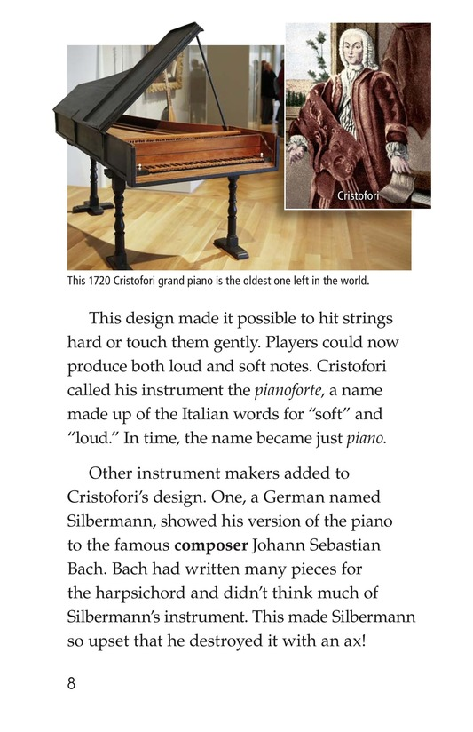 Book Preview For The History of the Piano Page 8