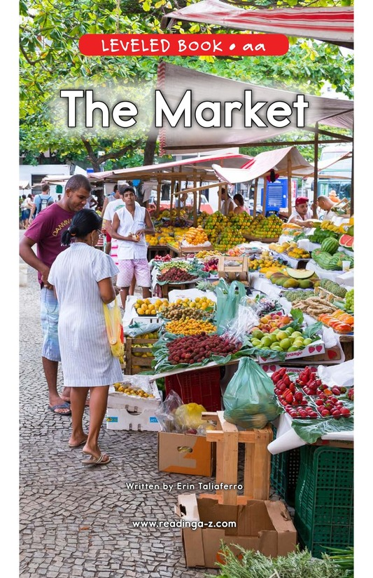 Book Preview For The Market Page 0