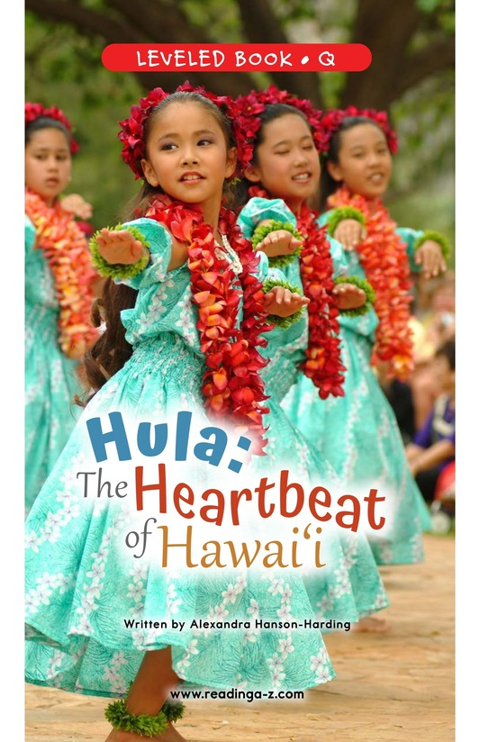 Book Preview For Hula: The Heartbeat of Hawaii Page 0