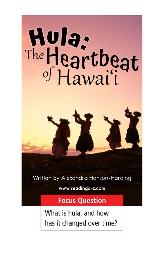Book Preview For Hula: The Heartbeat of Hawaii Page 1