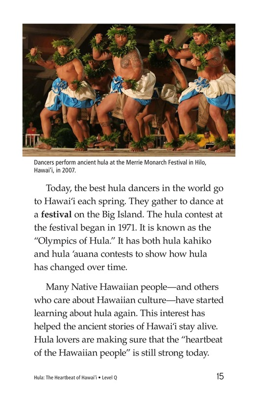 Book Preview For Hula: The Heartbeat of Hawaii Page 15