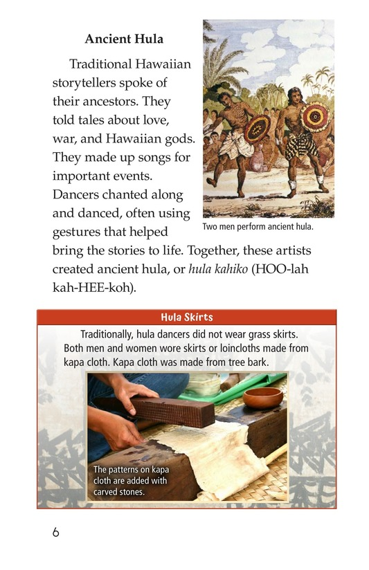 Book Preview For Hula: The Heartbeat of Hawaii Page 6