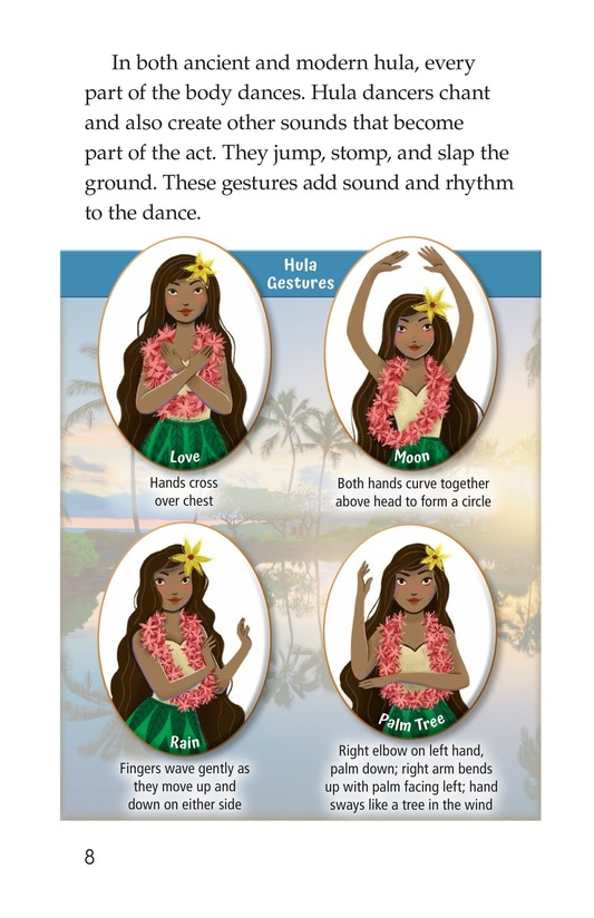 Book Preview For Hula: The Heartbeat of Hawaii Page 8