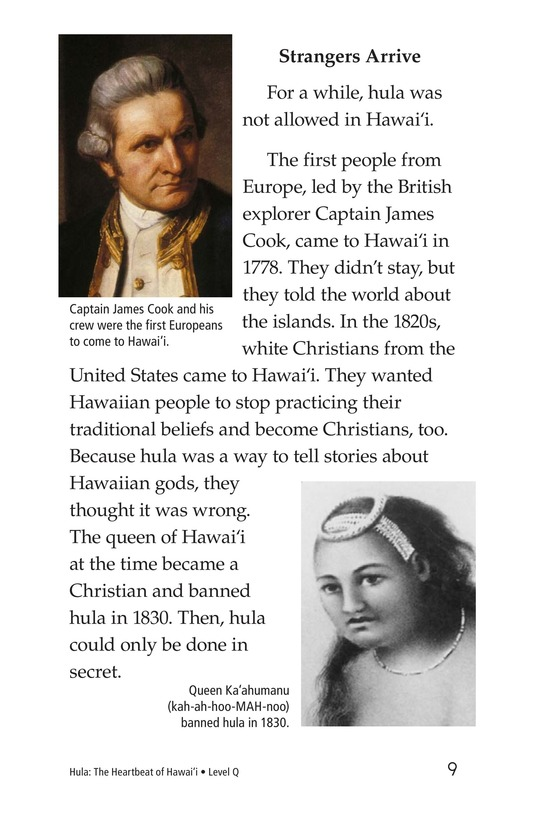 Book Preview For Hula: The Heartbeat of Hawaii Page 9