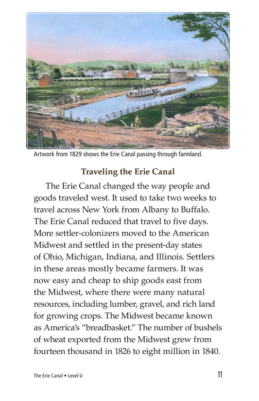 Book Preview For The Erie Canal Page 11