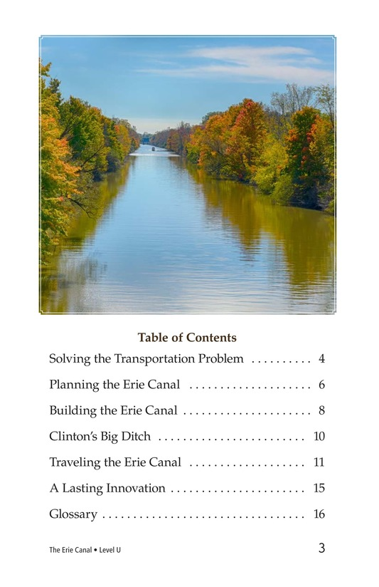 Book Preview For The Erie Canal Page 3