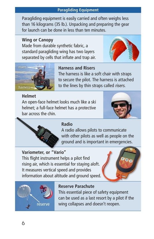 Book Preview For Paragliding Page 6