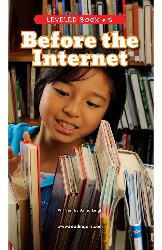 Book Preview For Before the Internet Page 0
