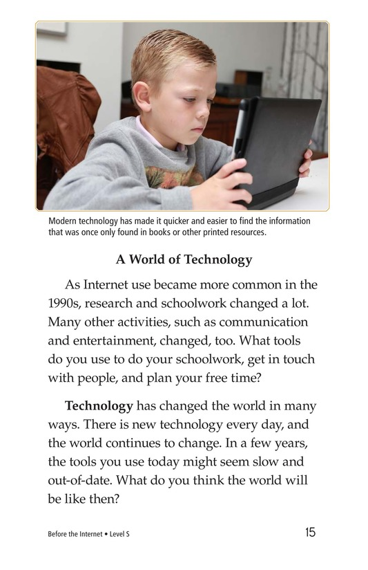 Book Preview For Before the Internet Page 15