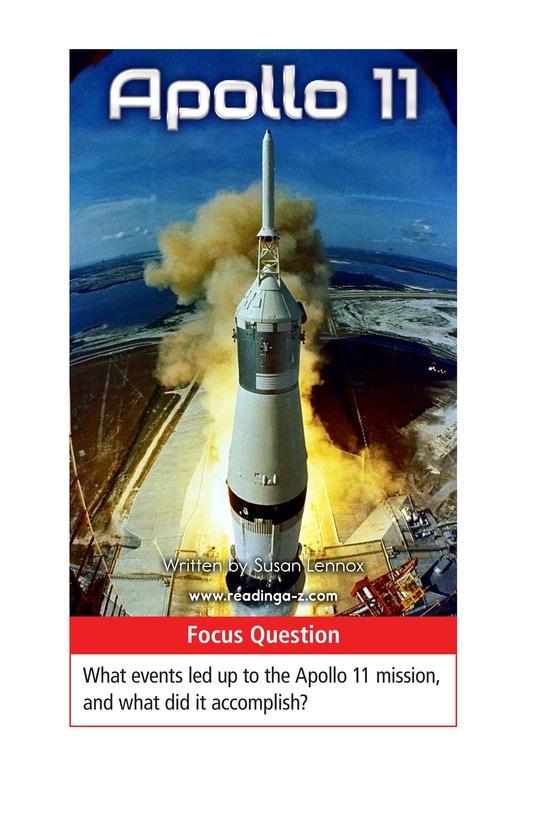 Book Preview For Apollo 11 Page 1