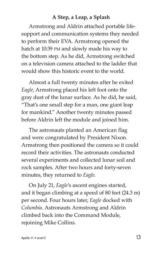Book Preview For Apollo 11 Page 13
