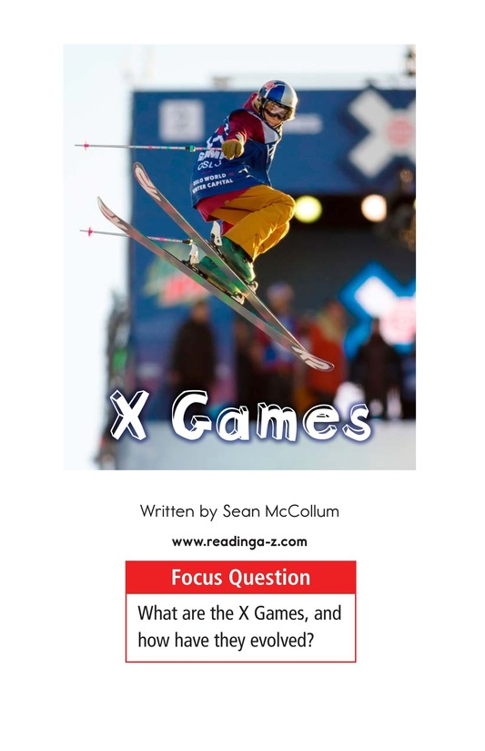 Book Preview For X Games Page 1