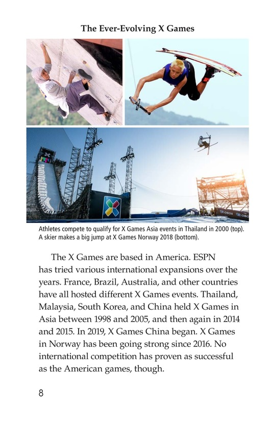 Book Preview For X Games Page 8