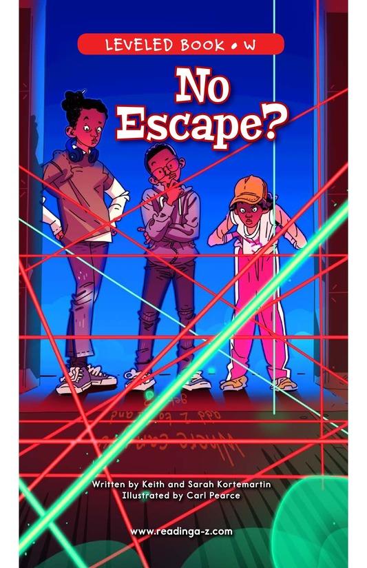 Book Preview For No Escape? Page 0