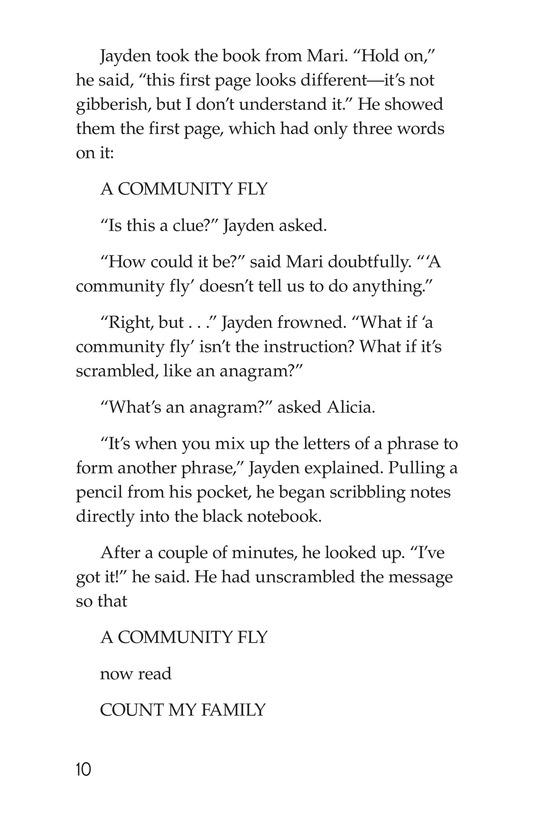 Book Preview For No Escape? Page 10