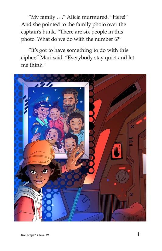 Book Preview For No Escape? Page 11