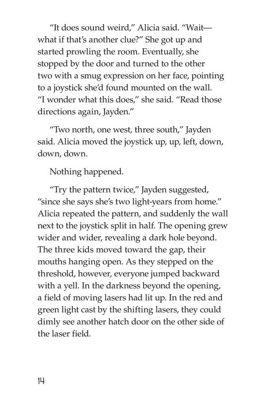Book Preview For No Escape? Page 14