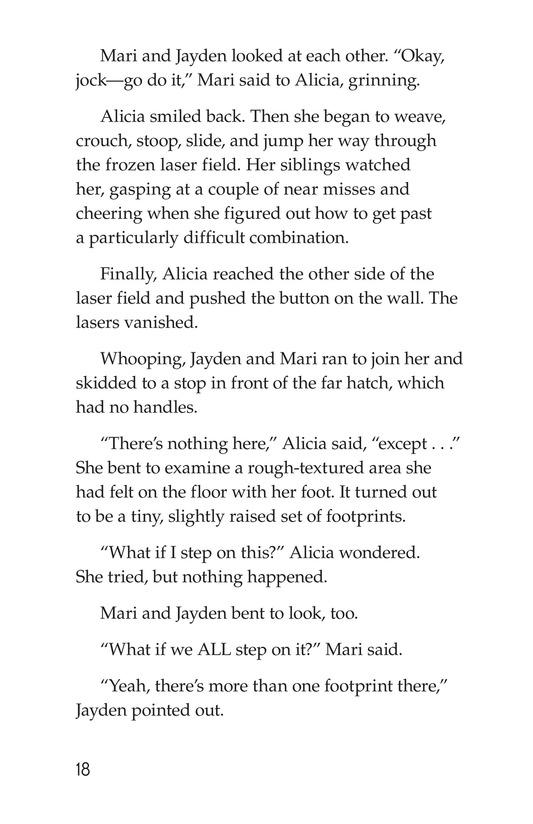 Book Preview For No Escape? Page 18