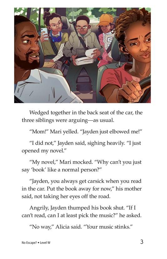 Book Preview For No Escape? Page 3